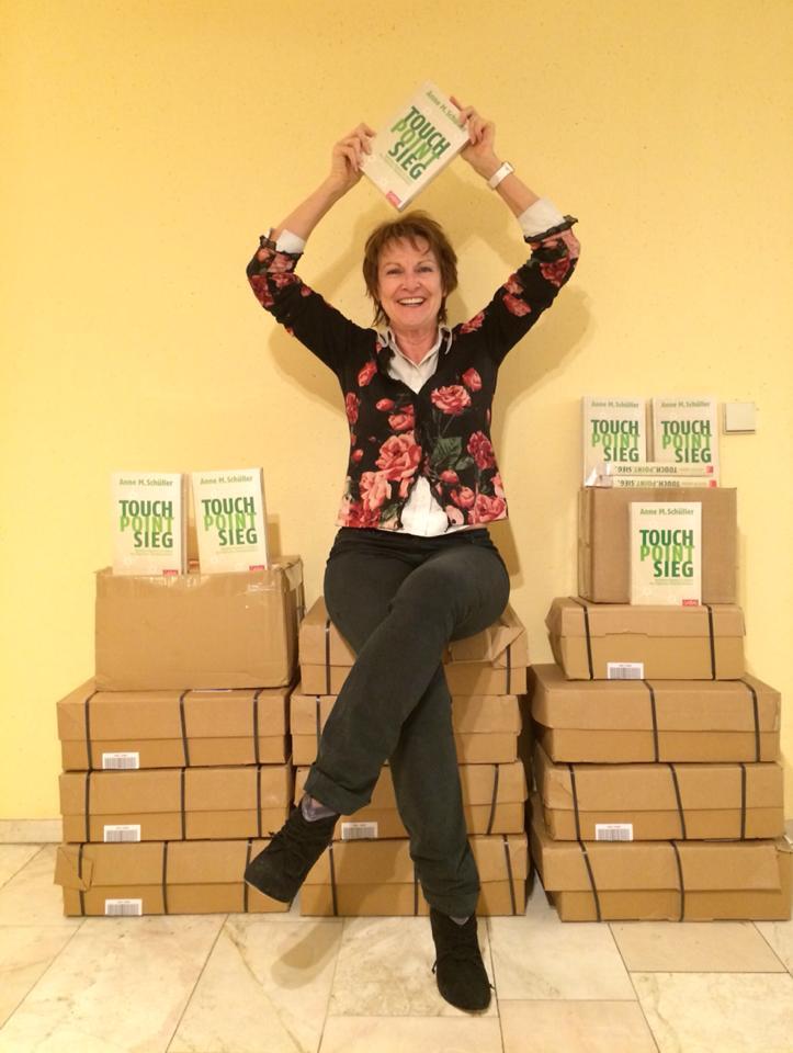 Bestsellerautorin Anne M. Schüller mit Touch.Point.Sieg.