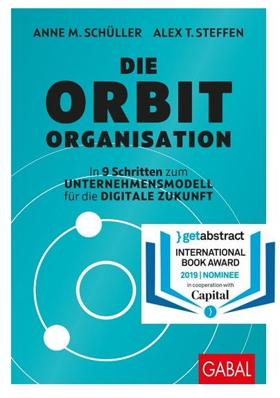 ie Orbit-Organisation: Finalist beim International Book Award 2019